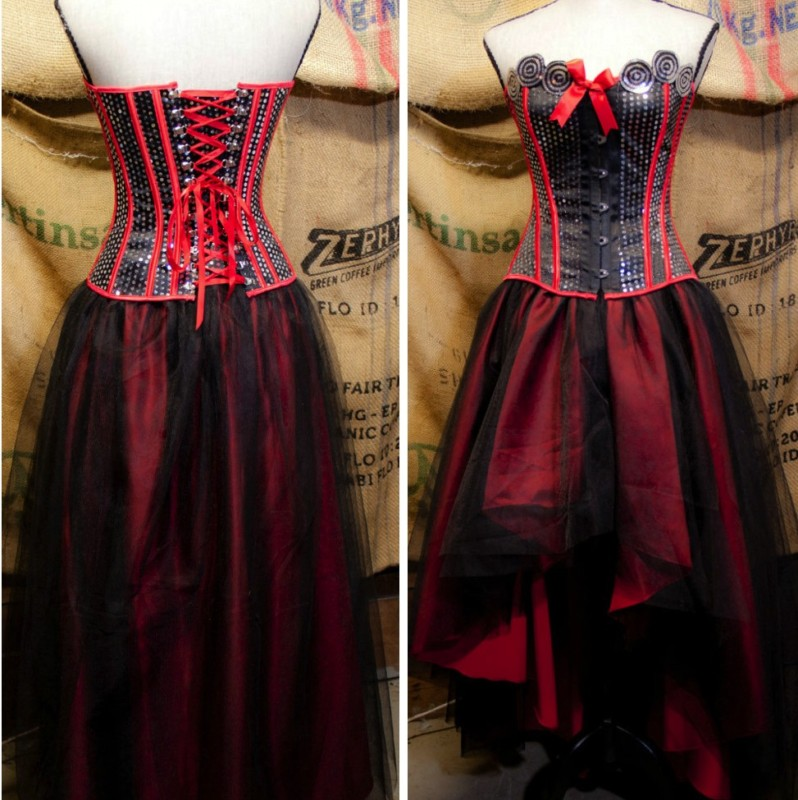 7239ece8834d Gothic Prom Dress – Steampunk Lifestyle
