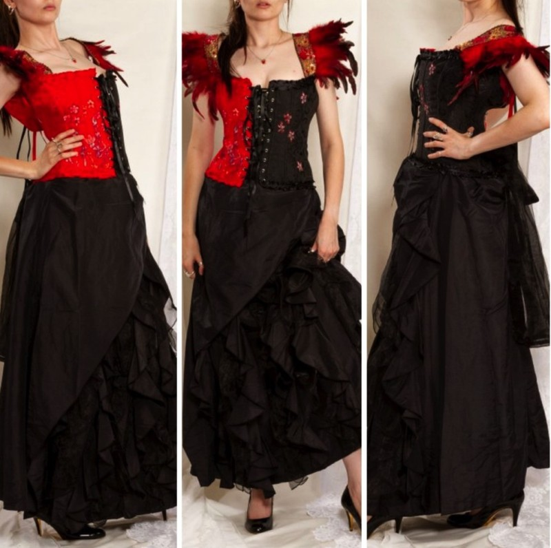 f905d7134a11 Gothic Corset Dress – Steampunk Lifestyle