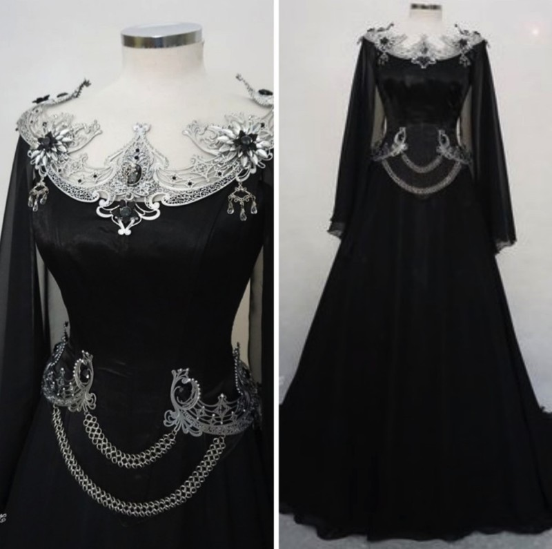 ce51e37d72ab Magical Gothic Gown – Steampunk Lifestyle